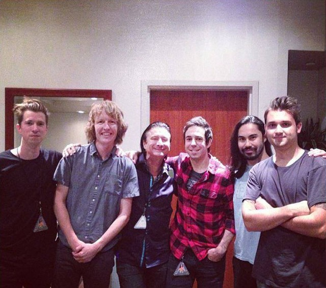 Steve with Katy Perry's Band - September 16, 2014