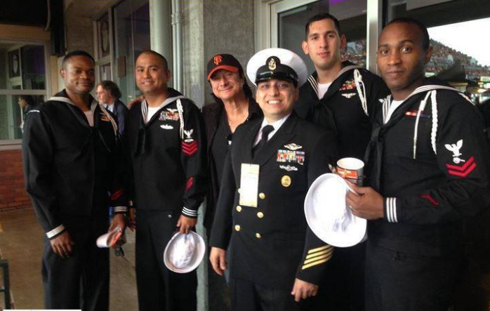 October 20, 2014 Steve Perry with the Navy Operational Support Center of San Jose CA 10/20/14