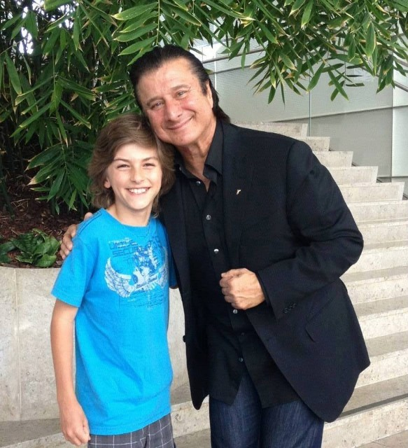 Young Canadian singer, Cory Palfalvi  with Steve!