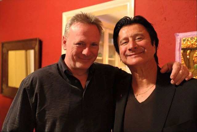 Guitarist Tony McManus and Steve Perry