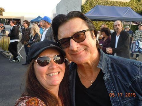 Rebecca Sorrelle Gruttell met Steve at the Malibu Guitar Festival.