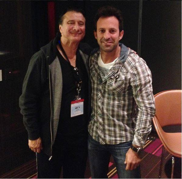 Steve with Producer/Director Scott Waugh