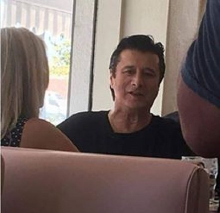 Steve Perry and the CBS Sunday Morning crew