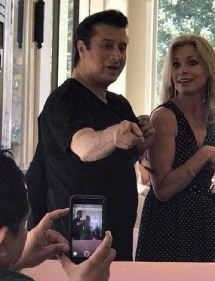 Steve Perry and Joanna Lewis, 7-19-18