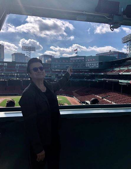 Steve at Fenway Park