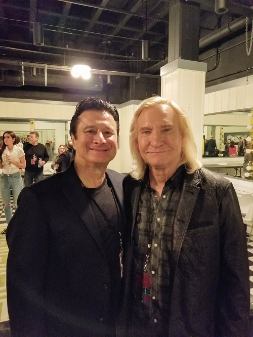 Steve Perry and Joe Walsh