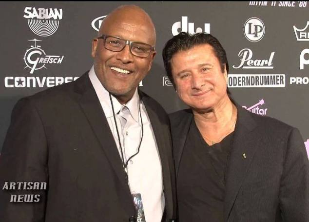 Steve Perry & Steve Feronne on the red carpet